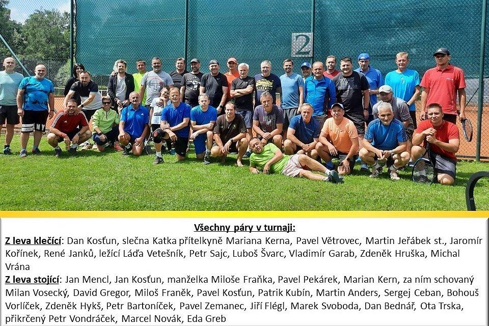 Tenis Family Tour 2021 ve Cvikově.