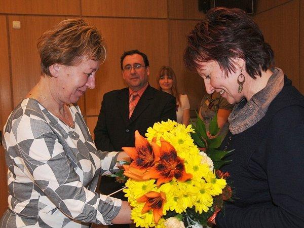 Soňa Librová (vpravo).