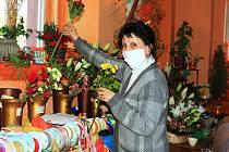 Zdenka Altnerová, majitelka květinářství ze Stráže pod Ralskem, která v době pandemie pomáhá lidem.