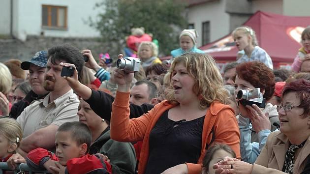 Letošní městské slavnosti byly pojaté ve velkém stylu a přilákaly stovky návštěvníků.