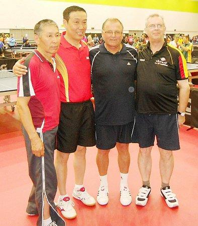 Na nedávném veteránském mistrovství světa ve stolním tenisu, které se uskutečnilo vAucklandu na Novém Zélandu, startoval ihráč českolipské Lokomotivy František Just.