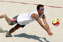 Volejbal byl jednou z disciplín Beach Action.