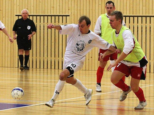 Záloha futsalového klubu FC Démoni Č. Lípa. Ilustrační foto.