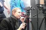 Mediální redakce vyrazila do pražských rádií, aby načerpala zkušenosti.
