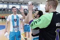 3. zápas: FBC PULLO TRADE Česká Lípa – Kanonýři Kladno 9:5 (1:2, 2:3, 6:0).
