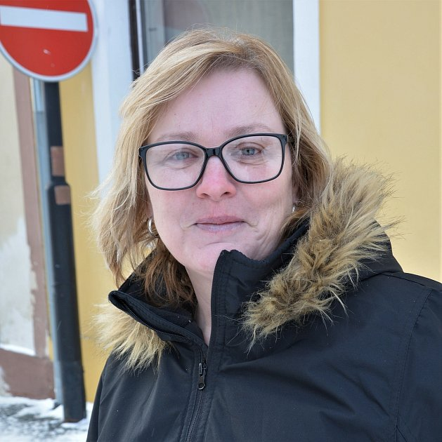 Simona Juráková, prodavačka