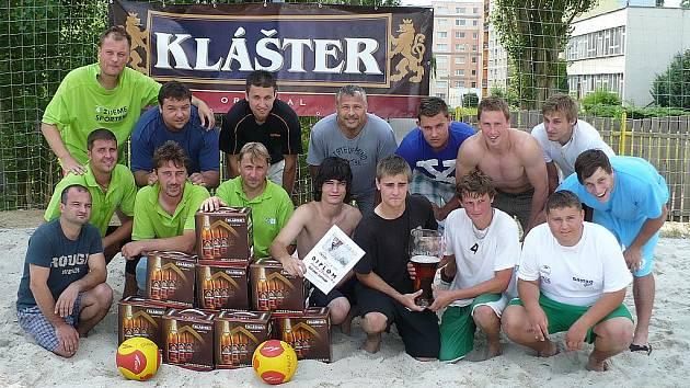 Účastníci turnaje Klášter Cup v České Lípě.