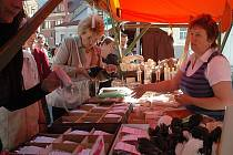 Farmářské trhy v České Lípě se loni těšily velkému zájmu.
