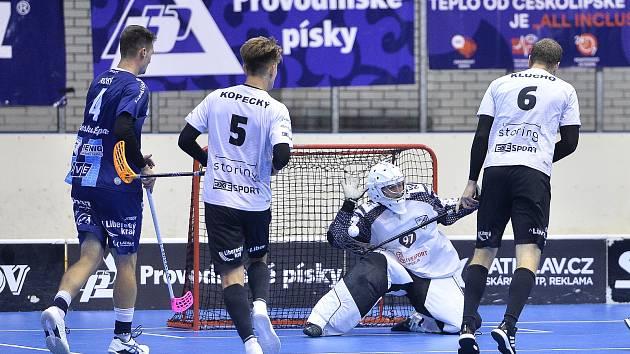 Florbalová Superliga, zápas Česká Lípa - Liberec. Foto: www.fbcliberec.cz.