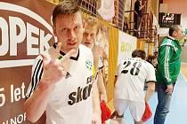 Tři góly, tři body. Českolipský kapitán Stanislav Bejda (na snímku) napsal hattrick. I díky němu přivezli Démoni důležitou výhru z Vysokého Mýta.