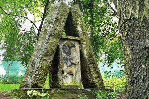 Tovaryšský vršek v českolipském parku.