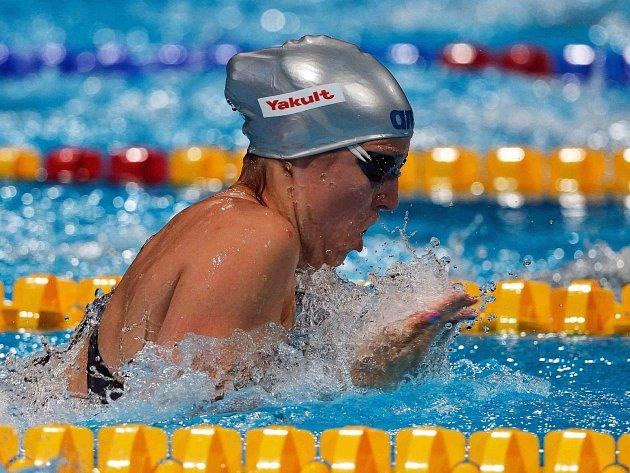 Voda zalila Petře Chocové brýle při finále na 50 m.