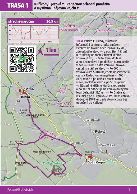 Ukázka trasy.