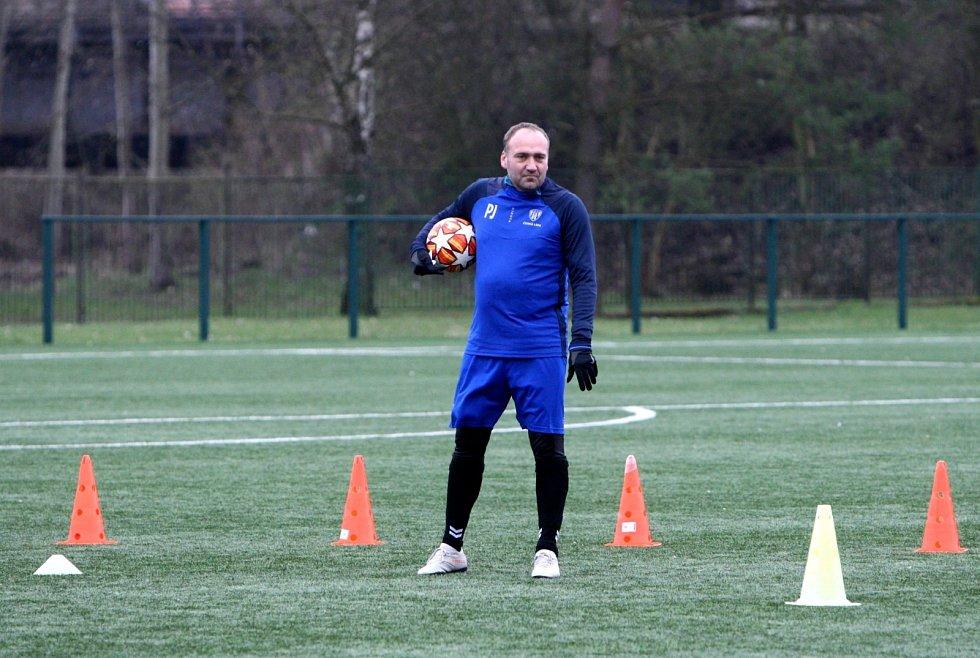 Trenér žáků Pavel Jandač.