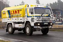 Závodní program Mogul Dakar Setkání v Sosnové začne v neděli 27. března v 8:00 otevřením areálu pro veřejnost.