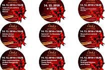 Akce Česko zpívá koledy vypukne ve středu 14. prosince v 18.00 na náměstí T. G. Masaryka v České Lípě a dalších sedmi místech na Českolipsku.