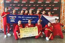Tanečníci z Tutti Frutti reprezentují město Česká Lípa i Českou Republiku po celém světě.