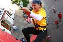 Součástí pátečního programu bude tradičně i vyřazovací soutěž na horolezecké stěně.