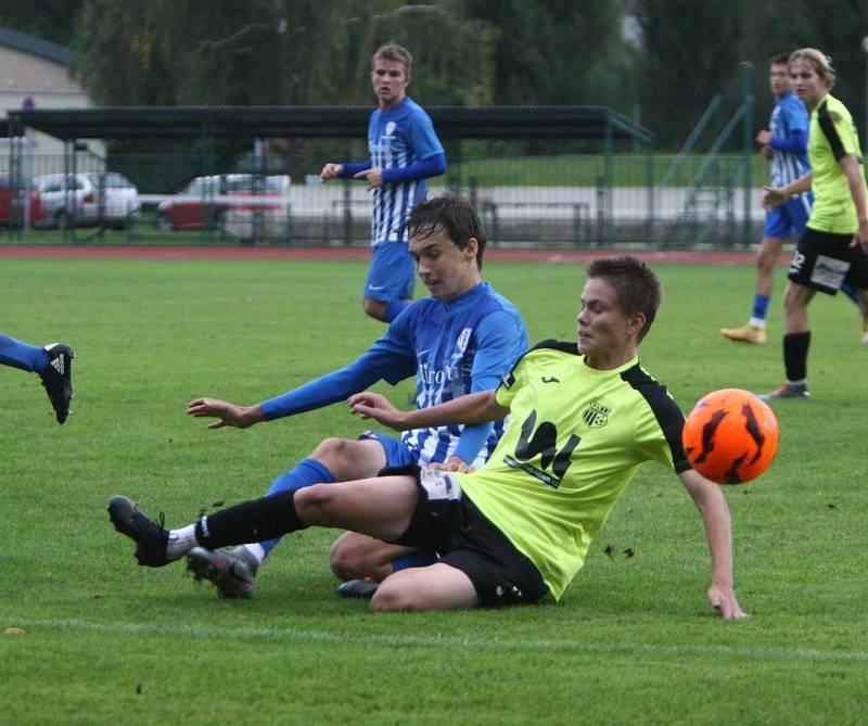 U 17: Arsenal Česká Lípa - FK Ústí nad Labem 3:3.