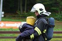 """Soutěž T.F.A., jejíž volný překlad znamená """"Nejtvrdší hasič přežívá"""", byla pro účastníky skutečně vyčerpávající."""