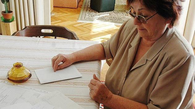 Krista Čechová si pečlivě vedla záznamy o práci řemeslníka. To jí ale ve finále bylo k ničemu.
