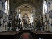 Kostel stojí v Jezvé v současné podobě od 18. století, jeho stav se ale postupně zhoršuje.
