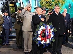 Ve Stráži uctili památku válečného hrdiny Sochora