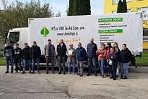 Ve druhé polovině letošního září přibyl do flotily SOU a SOŠ 28. října Česká Lípa zcela nový nákladní automobil.