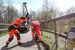 Finišují práce na úpravách cyklostezky Varhany.