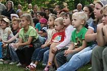 Na děti čeká během pouti několik divadelních představení.