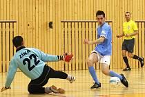 Hráči Reasu Česká Lípa (KP futsalu) mají před sebou další městský šlágr, tentokrát proti záloze Démonů.