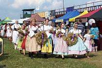 Čtrnácté Krajské dožínkové slavnosti hostila Mimoň.
