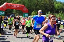 Pátý ročník Brnišťského půlmaratonu.