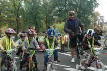 Celosvětová kampaň Den bez aut vyvrcholila v České Lípě na dětském dopravním hřišti . Zde od  rána probíhal bohatý program pro děti z mateřských a základních  škol.