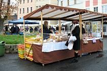 Farmářské trhy se v České Lípě konají každý čtvrtek od 8 do 13 hodin.
