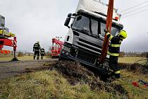Zásah hasičů na Českolipsku.