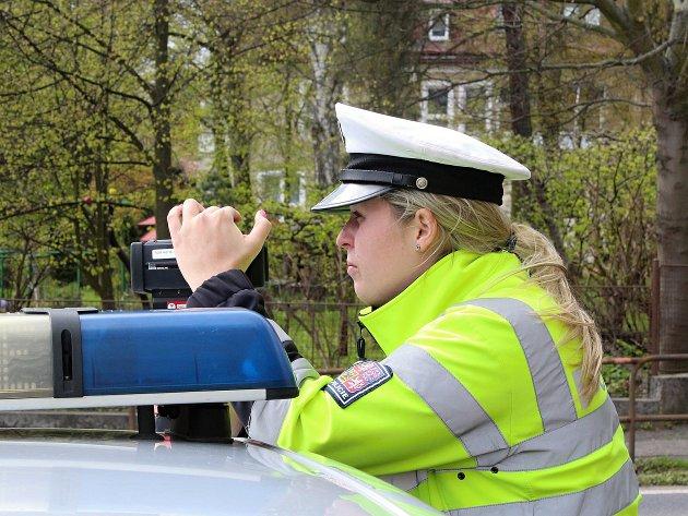 Policejní měření rychlosti na sebe seslali sami lidé. Jen na Českolipsku probíhalo současně na třech místech.