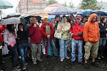 Petice navazuje na shromáždění občanů Nového Boru, které se konalo 15. srpna na novoborském náměstí.
