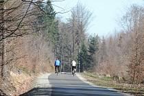 První etapu cyklostezky sv. Zdislavy dokončily loni v dubnu po roční stavbě Lesy ČR.