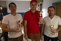 Masters Slovanka Cup: Třetí skončil Pavel Pekárek, druhý Martin Kalenda a vítězem se stal letos zaslouženě David Beneš.