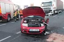 Dopravní nehoda u Sosnové. Čtvrtek 9. září
