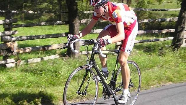 O uplynulém víkendu se z českolipských cyklistů nejvíce dařilo Jan Matouškovi.