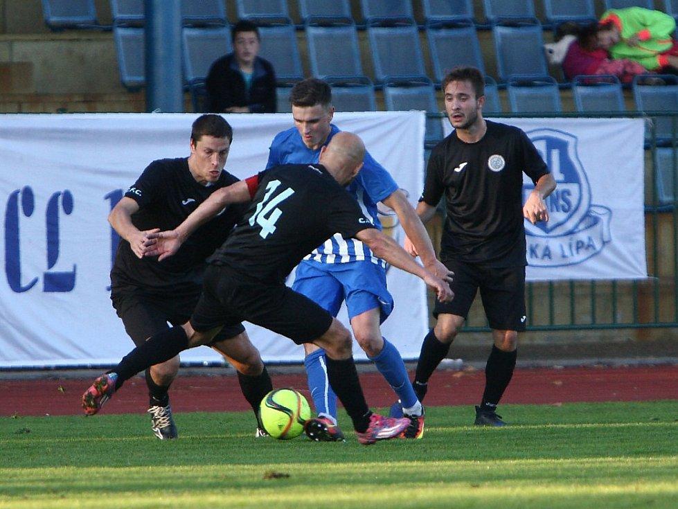 Arsenal Č. Lípa - FC Chomutov 1:0 (0:0) po pen.: 4:2.