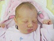 Mamince Viktorii Sakson z České Lípy se v sobotu 8. října v 1:39 hodin narodila dcera Julie Sakson. Měřila 50 cm a vážila 3,46 kg.