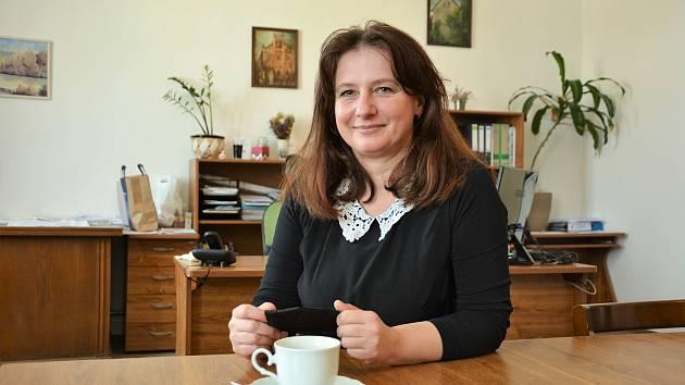 Irena Žalovičová, starostka Dubé na Českolipsku.