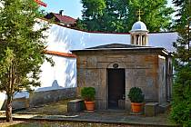 Boží hrob v Mimoni v Lužické ulici.
