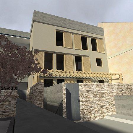 Studenti řešili, co snevzhledným místem, kde mělo původně stát nové divadlo.