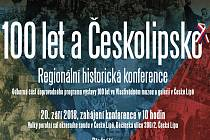 Historickou konferenci 100 let a Českolipsko s Vlastivědným muzeem a galerií spolupořádá Státní okresní archiv v České Lípě.