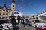 Rally Bohemia Historic ovládl Vlastimil Neumann na Fordu Escort RS Cosworth.