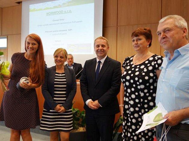 Vyhlášení výsledků se uskutečnilo ve čtvrtek 21. června v budově Krajského úřadu Libereckého kraje.